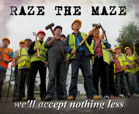 raze the maze wee